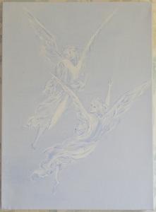 Acrylic on box canvas 9 x 12 (23 x 31)) 2012