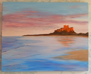 Acrylic on box canvas 16 x 20 (41 x 51) 2009