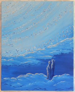 Acrylic on box canvas 8 x 10 (20 x 25) 2014