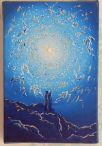 Acrylic on box canvas 4 x 6 (10 x 15) 2014