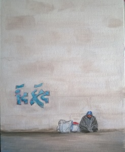 Acrylic on canvas board 8 x 10 2015