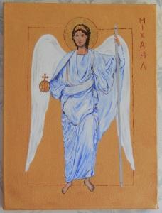 Acrylic on box canvas 9 x 12 (23 x 31) 2011