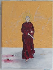 Acrylic on box canvas 6 x 8 (15 x 20) 2010