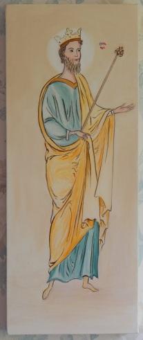 Acrylic on box canvas 8 x 20 (20 x 50) 2015