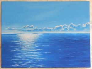Acrylic on box canvas 2009