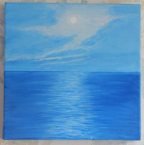 Acrylic on box canvas 10 x 10 (25 x 25) 2009