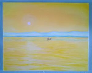 Acrylic on canvas board 7 x 5 2015