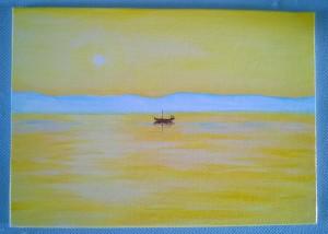 Acrylic on canvas board 10 x 8 2015