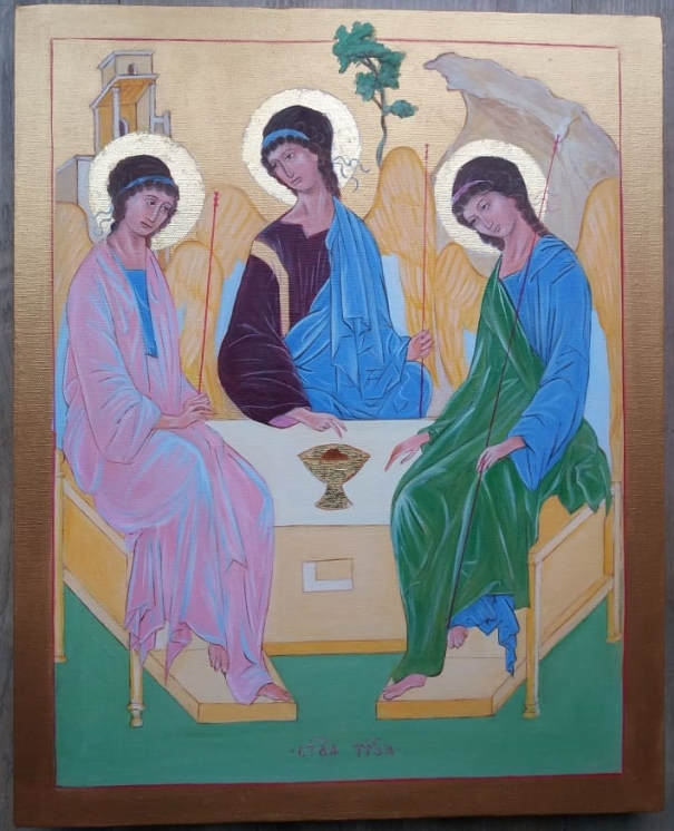 Trinity after Rublev