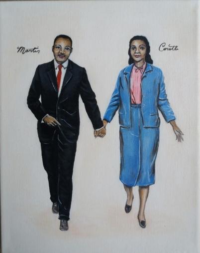MLK Jnr & Coretta