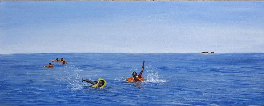 refugees in mediterranean